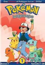 Pokemon Season One: Indigo League Pt.1, New DVDs