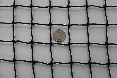 "Golf Training Aids Buy Cheap 10' X 12' Black Square Nylon Lacrosse Impact Netting 1 1/2"" #30 Hockey Net Refreshing And Enriching The Saliva"