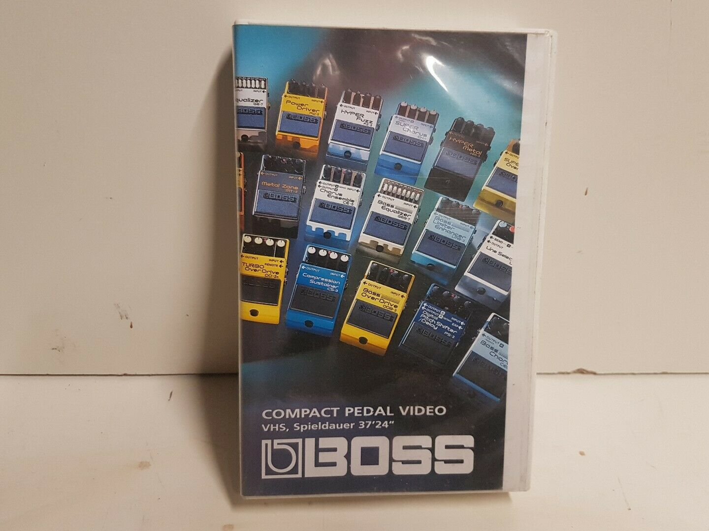 BOSS COMPACT PEDAL VHS VIDEO - 37 MINUTES DEMO