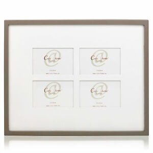 large 4 picture aperture collage wall hanging multi photo frame white 10x15cm 5414841486346 ebay. Black Bedroom Furniture Sets. Home Design Ideas
