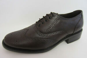 Tag 1 6001 Mens Brown Smart Lace Up Brogue Shoes- (r36b) (kett) Senility VerzöGern