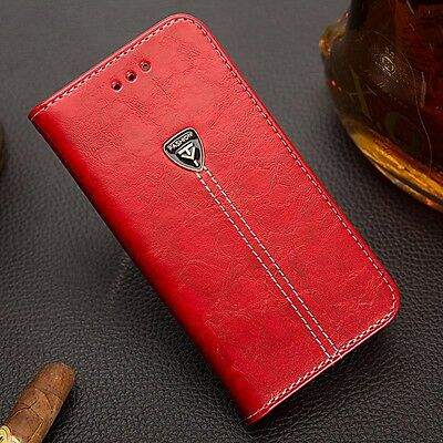 Luxury Flip Cover Stand Card Wallet PU Leather Case For Motorola Moto G4/G4 PLUS