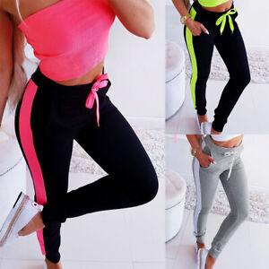 Damen-Sporthose-Jogginghose-Freizeithose-Fitness-Hose-Sweatpants-Trainingshose