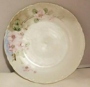 Vintage-Porzellanfabrik-Moschendorf-Bavaria-PM-Plate-Hand-Painted-Floral-7-1-2-034