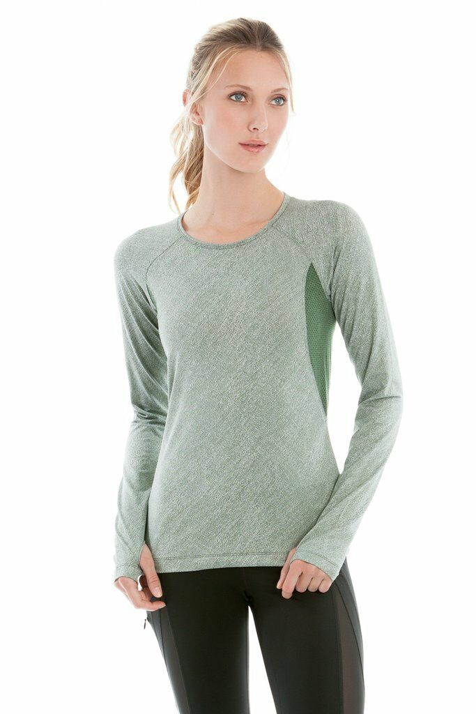 NWT LOLE Women's Lynnew Top Green Large L Running Athletic Fitness