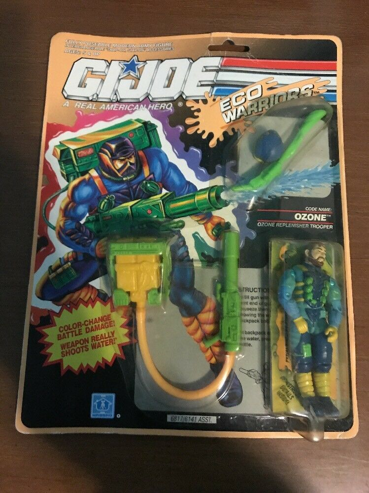 1990 GI Joe Eco warrios  OZONE  MIC By Hasbro