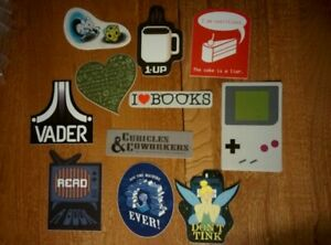 Classic-WOOT-T-shirt-Design-Professional-STICKERS-Parody-Video-Game-Books-Read