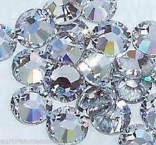 Lote De Trabajo Grande De 3mm (1152 piezas) de gran calidad de cristal Hot Fix Hotfix Flatback