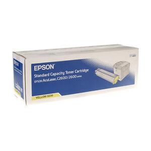 NEW-Genuine-Epson-0226-C13S050226-Yellow-Toner-Cartridge-for-AcuLaser-C2600-2600