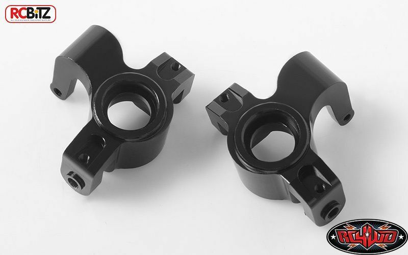 Nocche sterzo anteriore per Axial Yeti XL Z-S1750 rcbitz Nero Alluminio Metallo