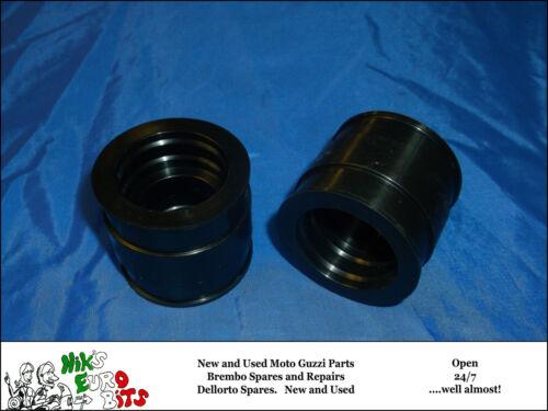 2 OFF MOTO GUZZI   V35 // V50 I//II 78-81 - 25mm   INLET RUBBERS
