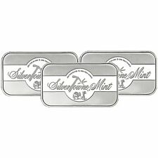 SilverTowne Mint Signature 1oz .999 Silver Bar (3pc)