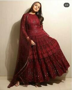 Traditional Pakistani Dress Designer Bollywood Party Wear Wedding Royal Apparel Ebay