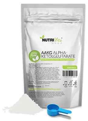 500g (1.1lb) NEW 100% AAKG POWDER L-ARGININE ALPHA-KETOGLUTARATE PHARMACEUTICAL