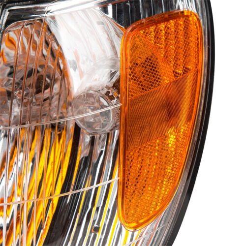 Front Bumper Turn Signals Lights Corner Lamp Left For Lexus LX470 1998-2007