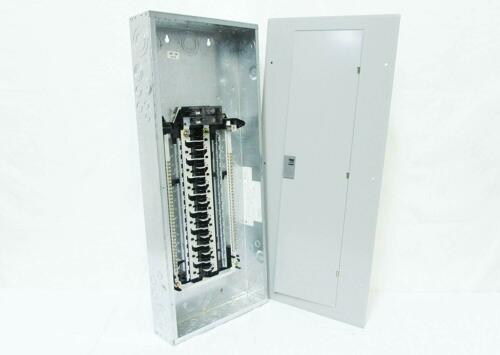 GE 100-Amp 32-Space-Circuit Copper-Buss Indoor Home Main-Breaker-Box Load Panel