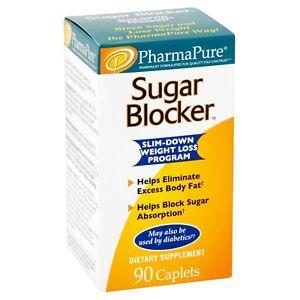PharmaPure® Sugar Blocker Weight Loss Supplement 90 Cap pierde peso