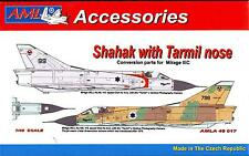 AML Models 1/48 ISRAELI SHAHAK FIGHTER w/TARMIL NOSE Resin & PE Conversion Kit