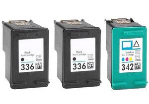 3-tinta-GEN-cartucho-XXL-336-amp-342-Photosmart-2500-2570-2575-7800-7850-c3100
