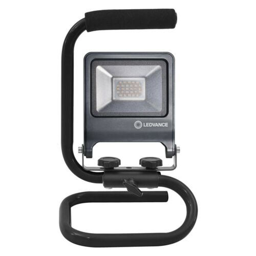 Ledvance LED WORKLIGHT 20W 840 S-STAND Floodlight 4000K IP65 dunkelgrau