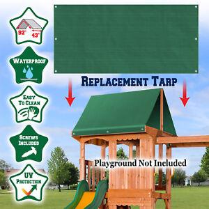 Replacement Tarp For Backyard Wood Playset Swing Set 43
