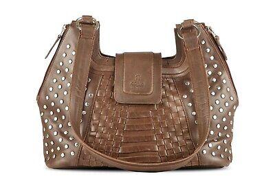 Freundlich Fashion Womens Ladies Designer Genuine Leather Handbag Tote Shoulder Bag New Dinge Bequem Machen FüR Kunden