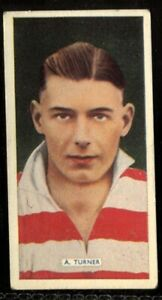 Tobacco-Card-Carreras-POPULAR-FOOTBALLERS-1936-A-Turner-Doncaster-Rovers-27