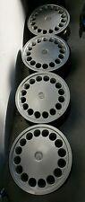 4 cerchi in ferro 5 fori + 4 borchie per Alfa Romeo 164 nuovi