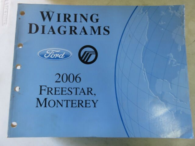 2006 Ford Freestar Monterey Electrical Wiring Diagrams