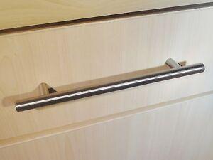 BULK-Bumper-lot-T-bar-kitchen-door-cupboard-handles-Nickel-Steel-96mm-128mm