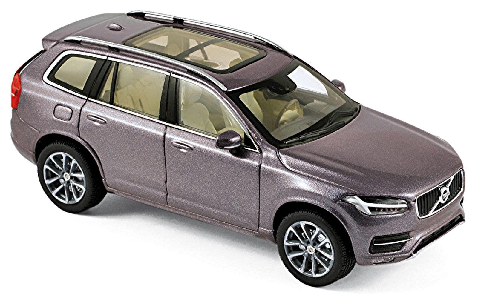 VOLVO XC90 XC90 XC90 SUV 2015-18 gris Savile gris metálico 1 43 Norev 77b678