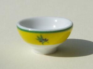 Dolls-house-miniatures-porcelain-bowl-from-France-with-an-olive-pattern