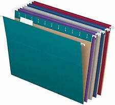 Pendaflex Recycled Hanging File Folders Letter Size 15 Cut Tabs 25 Per Box