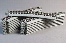 "Bulk Nickel-Silver 25-Pieces Bachmann BAC44584 HO EZ-Track 36/""//3-Foot Straight"