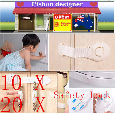 Baby Door Drawer Cupboard Cabinet Soft And Antislippery Purposeful 10/20 Child Adhesive Kids Baby Cute Safety Lock Baby Safety & Health