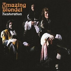 AMAZING-BLONDEL-Restoration-2016-reissue-12-track-CD-album-NEW-SEALED