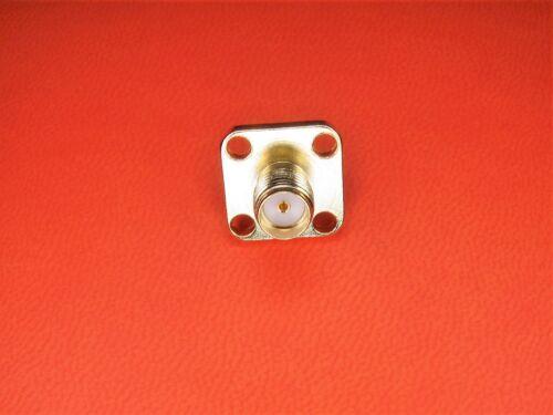 Funk SMA Einbaubuchse SMA Buchse WLAN 12,5x12,5mm M6 löten LTE GPS