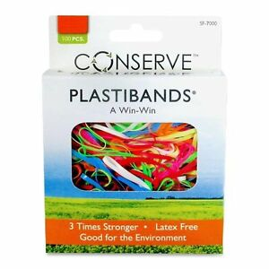 Baumgartens-Plastiband-Latex-free-Archival-safe-100-Box-Polyurethane