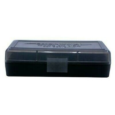 380 BERRY/'S PLASTIC AMMO BOXES SMOKE 100 Round 9MM 3