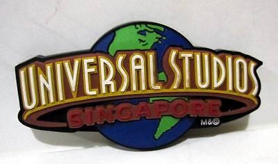 ▓ Universal studios singapore LOGO BLUE fridge ref magnet