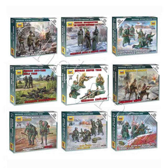 "Model Kits ""German/Romanian soldiers of Land Army, 1941-45 WWII"" 1:72 Zvezda, #2"