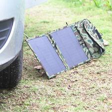 solar 10.5w panel battery charger  Folding  12 v usb 5v  For Car Boat Motor