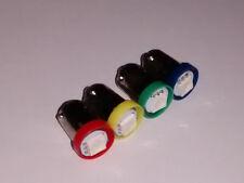 N. 40 LED LAMPE LIGHT BULBS TYPE GE44 6,3V 1SMD 5050 COLORED FOR FLIPPER PINBALL