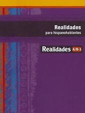 REALIDADES 2014 PARA HISPANOHABLANTES LEVEL AB1