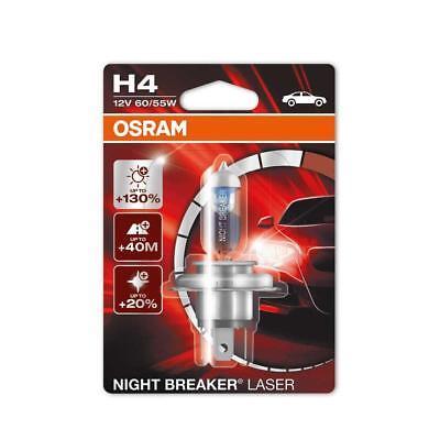 OSRAM NIGHT BREAKER LASER H4 Halogen-Scheinwerferlampe 64193NBL, bis zu 130% meh