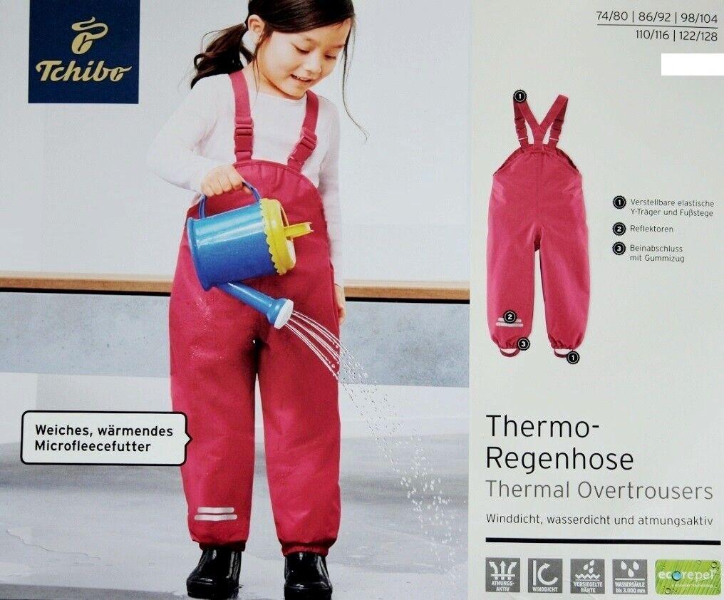 Tchibo TCM Thermo-Regenhose f/ür M/ädchen Beere