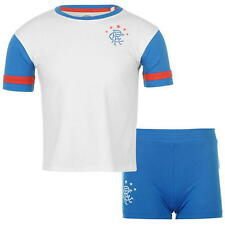 BNWTLIMITED EDITION RANGERS MINI TEAM KIT ROYAL BLUE/WHITE AGED 5-6 YEARS ONLY