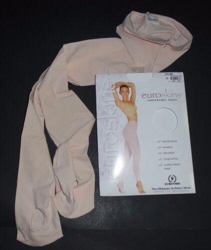 NIP EUROTARD EUROSKINS 210 Convertible Tights Theatrical Pink Ladies  Ballet