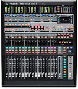 PreSonus StudioLive CS18AI Ethernet/AVB Control Surface+Studio One Pro Upgrade !