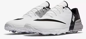 fc5ba51ac2ecf9 BRAND NEW Nike FI Flex Mens Golf Shoes White Anthracite Wolf Grey ...